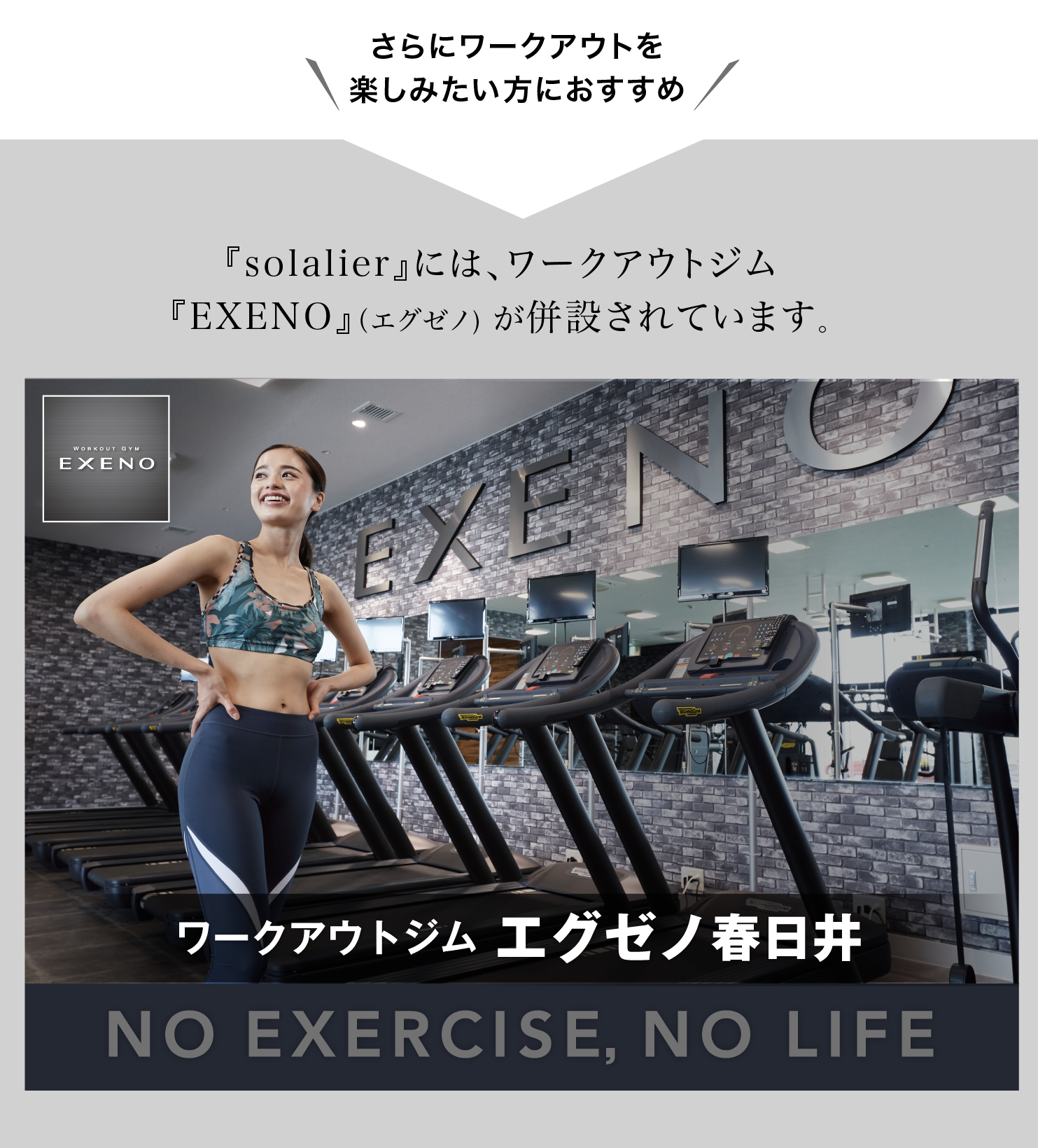 workout gym exeno、エグゼノ